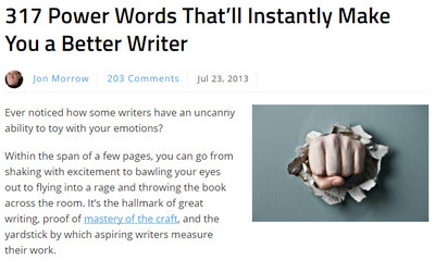 317 Power Words That'll Instantly Make You a Better Writer